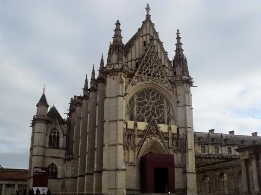 Image result for sainte chapelle paris outside
